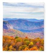 Blue Ridge Mountains 1 Fleece Blanket