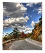 Blue Ridge Parkway, Buena Vista Virginia 4 Fleece Blanket