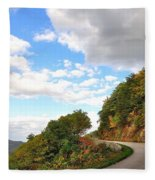 Blue Ridge Parkway, Buena Vista Virginia 6 Fleece Blanket