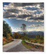 Blue Ridge Parkway, Buena Vista Virginia Fleece Blanket