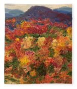 Blue Ridge Pastoral Fleece Blanket