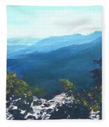 Blue Ridge Fleece Blanket