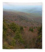 Blue Ridge View Fleece Blanket