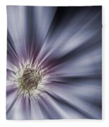 Blue Satin Fleece Blanket