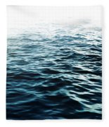 Blue Sea Fleece Blanket