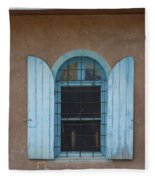 Blue Shutters Fleece Blanket