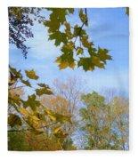 Blue Skies Ahead Fleece Blanket