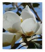 Blue Skies Magnolia Fleece Blanket