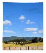 Blue Skies Fleece Blanket
