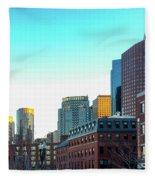 Blue Sky Boston Fleece Blanket