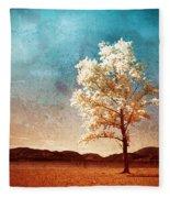 Blue Sky Dreams Fleece Blanket