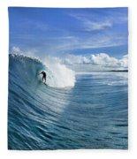 Blue Sling Fleece Blanket