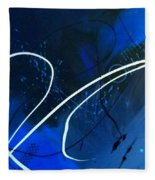 Blue Speed Fleece Blanket