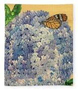 Blue Splendor Fleece Blanket