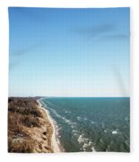 Blue Spring Fleece Blanket