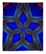 Blue Star Fleece Blanket