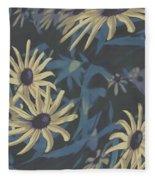 Blue Sunshine  Fleece Blanket