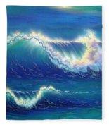 Blue Thunder Fleece Blanket
