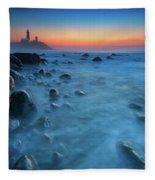 Blue Tide Fleece Blanket