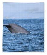 Blue Whale Tail Flop Fleece Blanket
