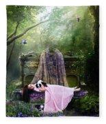 Bluebell Dreams Fleece Blanket