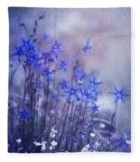 Bluebell Heaven Fleece Blanket
