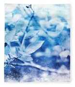 Blueberry Blues Fleece Blanket