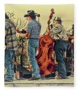 Bluegrass Evening Fleece Blanket