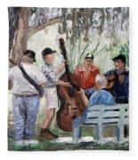 Bluegrass In The Park Fleece Blanket