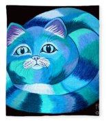 Blues Cat Fleece Blanket