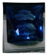 Bluetiful Fluorite Fleece Blanket