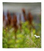 Bluff Lake Ca Wild Flowers 1 Fleece Blanket