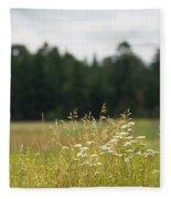 Bluff Lake Ca Wild Flowers 5 Fleece Blanket