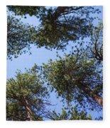 Bluff Lake Forest 2 Fleece Blanket
