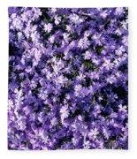 Bluish Carpet Fleece Blanket
