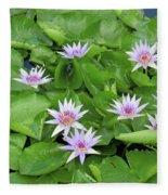 Blumen Des Wassers - Flowers Of The Water 22 Fleece Blanket