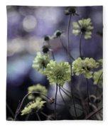 A Meadow's Blur Of Nature Fleece Blanket