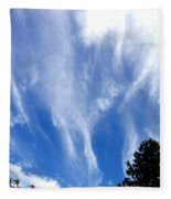Blustery Sky Fleece Blanket