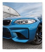 Bmw M2 Coupe Fleece Blanket