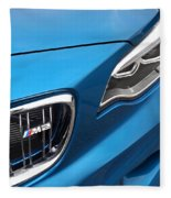 Bmw M2 Grille Fleece Blanket