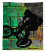 Bmx II Fleece Blanket