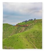 Bnsf7492 2 Fleece Blanket
