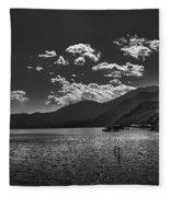 Bnw Lago De Coatepeque - El Salvador V Fleece Blanket