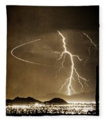 Bo Trek Lightning Art Fleece Blanket