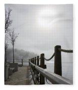 Boardwalk Dawn Fleece Blanket