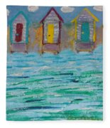 Boat House Fleece Blanket