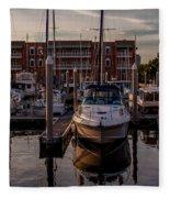 Boat Slip Fleece Blanket