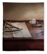 Boat - The Joy Of Sextant Fleece Blanket