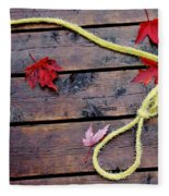 Boaters Chain Fleece Blanket