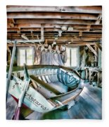 Boathouse Fleece Blanket